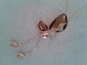 Swarovski Necklace brown
