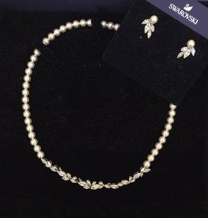Swarovski Louison Set Perlenkette und Ohrringe