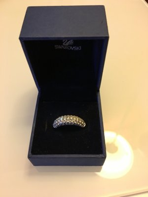 Swarovski maeva Ring weiß rhodiniert