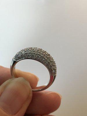 Swarovski Maeva Ring , weiß rhodiniert, Swarovski Cyrstale