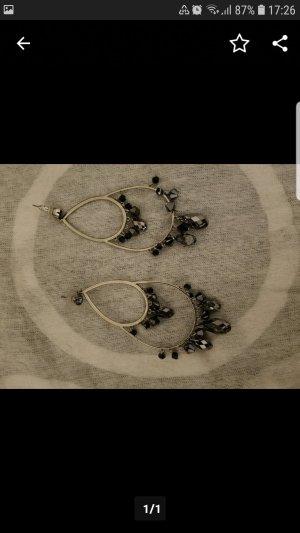 Swarovski Bungeloorbellen zwart