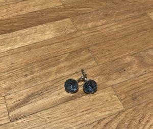Swarovski Ohrringe Bella Mini Blau rodiniert