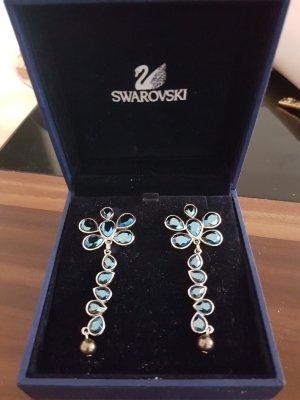 Swarovski Ohrringe blau