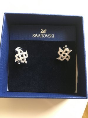 Swarovski Earring silver-colored-white