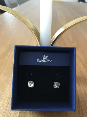 Swarovski Zarcillo color plata