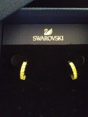 Swarovski Ohrringe mit OVP
