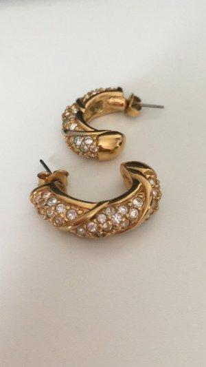 Swarovski Gold Earring silver-colored-camel