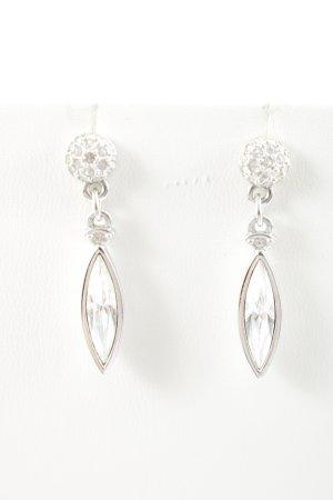 Swarovski Ear stud silver-colored elegant