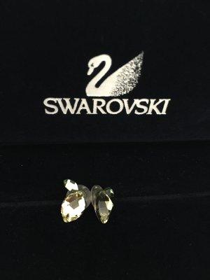 Swarovski Ohrstecker (Zitrone)