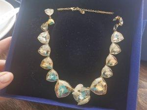 Swarovski Collar color oro