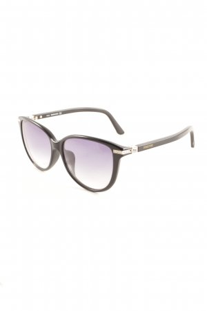 """Swarovski ovale Sonnenbrille """"SW 77-F"""" schwarz"""