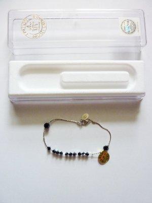 Swarovski Perlen Armband 925er silber neu