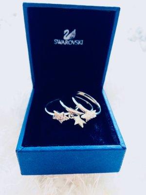 Swarovski Zilveren ring lichtgrijs Zilver