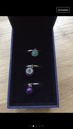 SWAROVSKI RING 3ER-SET