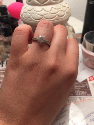 Swarovski Ring Echtsilber