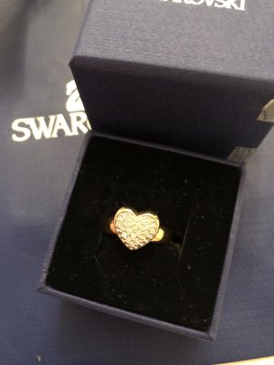 Swarovski Ring Even Herz  mit Steinen besetzt in Roségold traumhaft schön