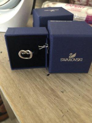 Swarovski Ring Herzförmig Größe 55