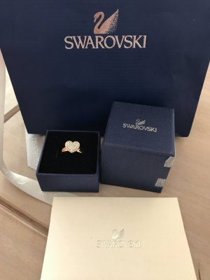 Swarovski Ring in Roségold als Herz neu mit Etikett 99€