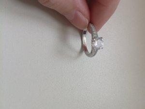 Swarovski Ring in Silber