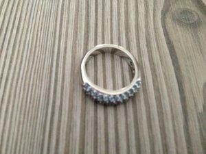 Swarovski Ring mit blauen Steinen