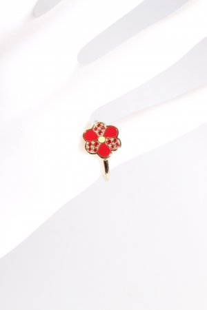 Swarovski Ring mit Blume