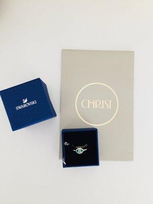 Swarovski Ring mit Etikett und Geschenkverpackung