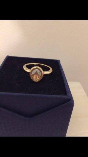 Swarovski Ring neu goldfarben