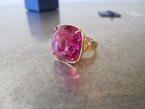 Swarovski Ring Pink Night Time 52 NEU OVP