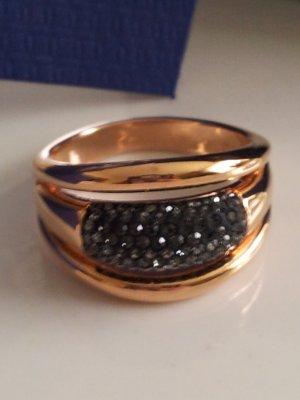 Swarovski Ring rosevergoldet