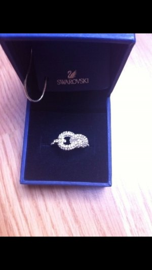 Swarovski Ring Silber