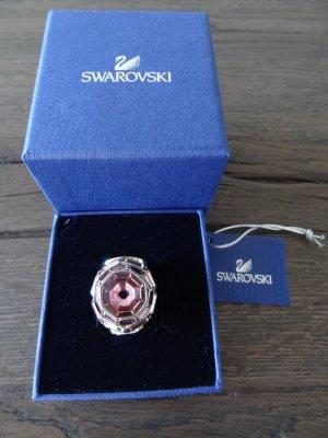 SWAROVSKI Ring, Silber mit rosa Stein, Gr. 55!!