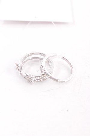 Swarovski Ring silberfarben Elegant