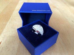 Swarovski Ring silver-colored