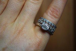 SWAROVSKI Ringe 925 Silber Größe 56