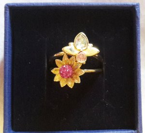 Swarovski Ringe Bloom neuwertig