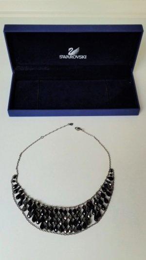 Swarovski Schmuck Halskette Collier schwarz