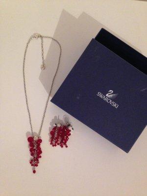 Swarovski Set Halskette und Ohrringe