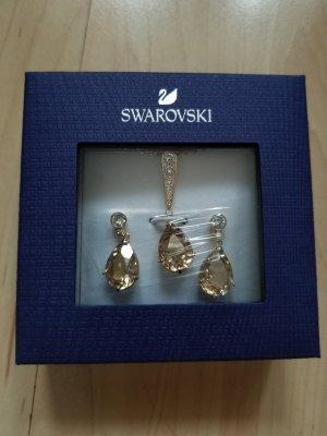 Swarovski Earring gold-colored