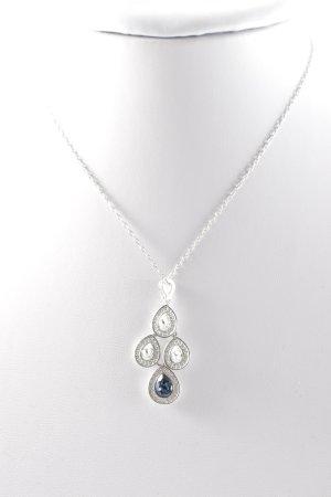 Swarovski Silberkette silberfarben Elegant