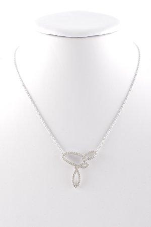 Swarovski Catena d'argento argento elegante