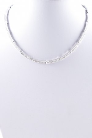Swarovski Zilveren ketting zilver elegant