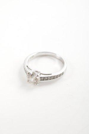Swarovski Zilveren ring zilver zakelijke stijl