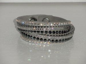 Swarovski Slake Deluxe Gray Grau Armband Gr. M