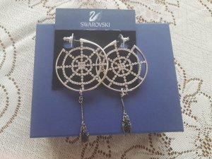 Swarovski Spinnennetz-Ohrringe