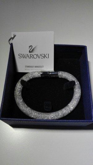 Swarovski Stardust Bracelet weiss (Größe S (18cm))