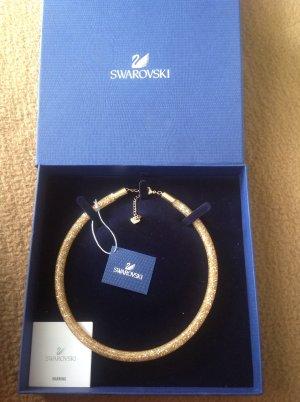 Swarovski Stardust Deluxe Halskette gold