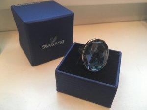 Swarovski Statement Ring blue