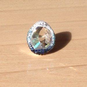 Swarovski Statement Ring mit Farbverlauf
