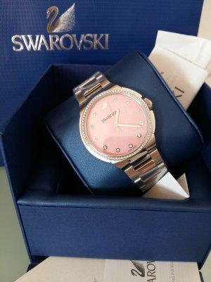Swarovski Watch light grey-light pink stainless steel
