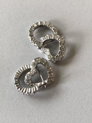 Swarovski Oorstekers zilver